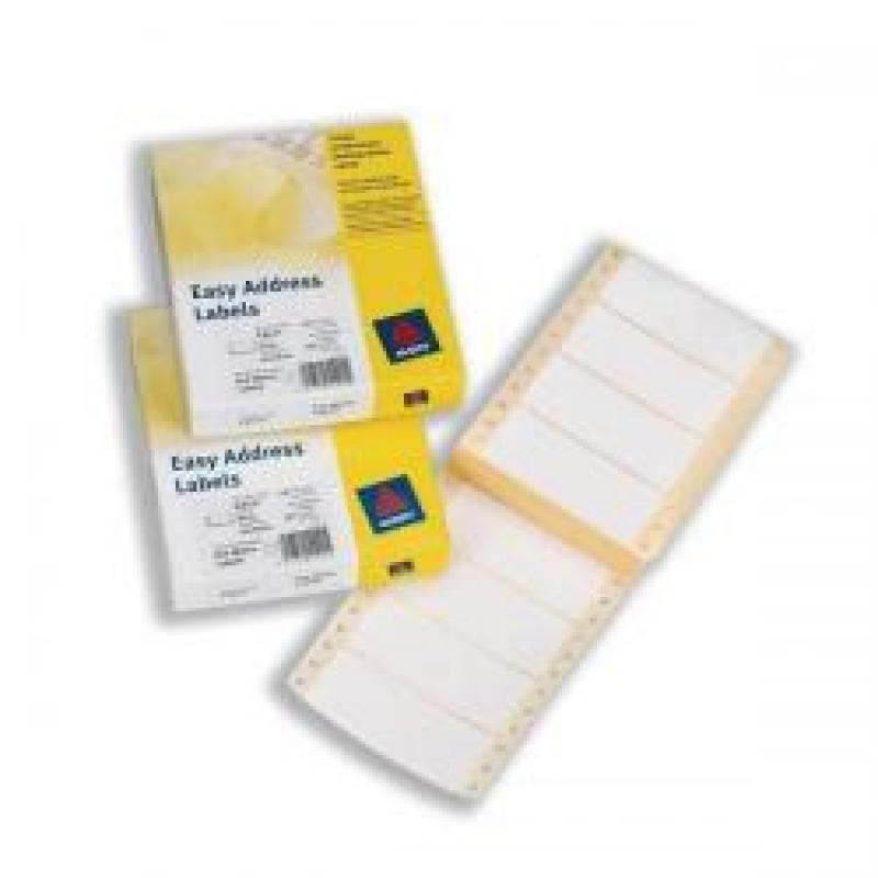 Avery Dot Matrix Labels Easy Address Labels