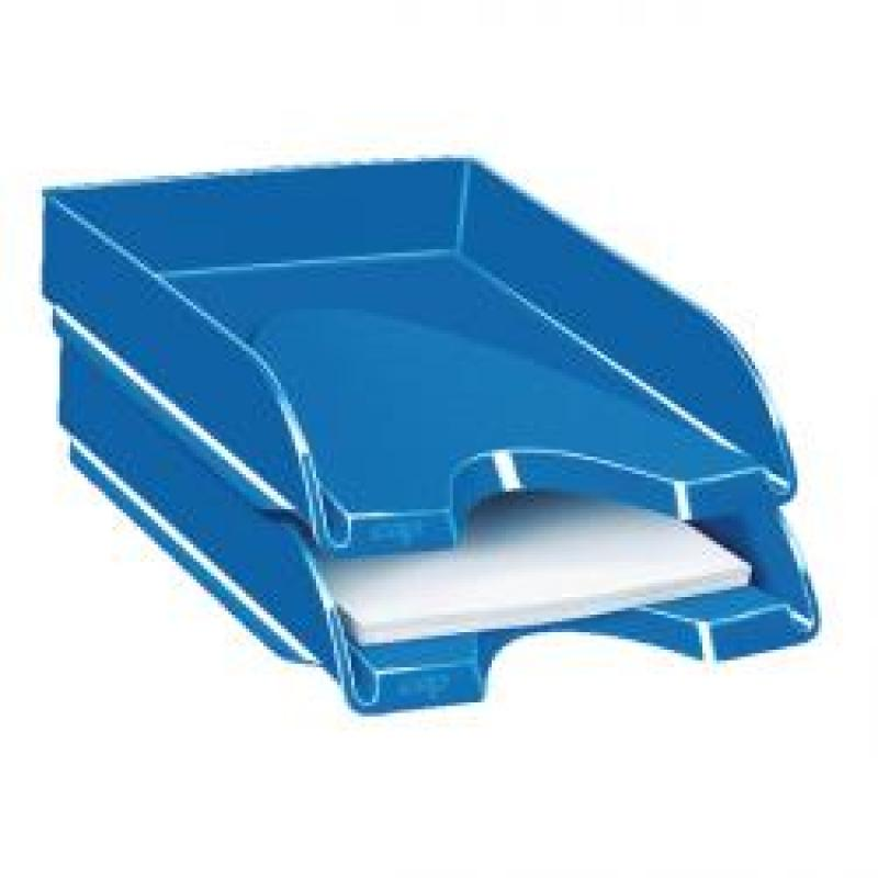 CEP Pro Gloss Blue Letter Tray 200GBLUE