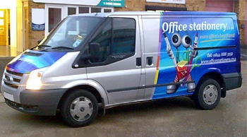 office stationery van