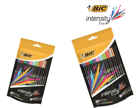 Bic Intensity Fineliner 2 for 1