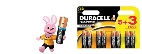 AA Batteries buy 5 + 3 Free