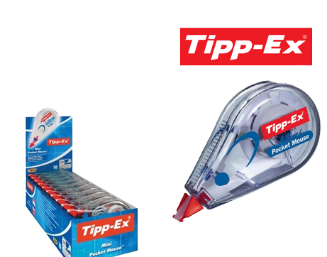 See Deal Tipp-Ex (5mm x 5m) Mini Pocket Mouse Correction Roller (Pack of 10)  -  2 for 1 Offer (Oct-Dec 2017)   901817-Q4 Promo